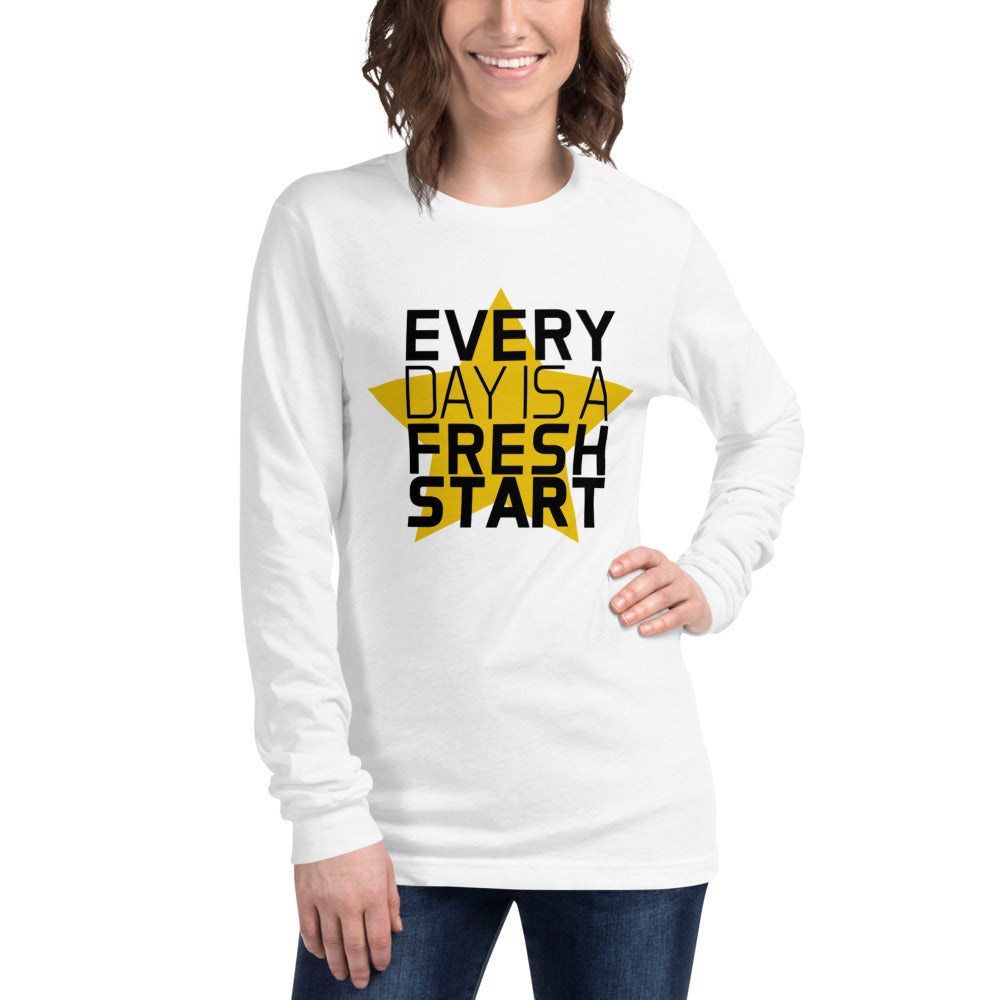 Womens Long Sleeve T-Shirt Fresh Start