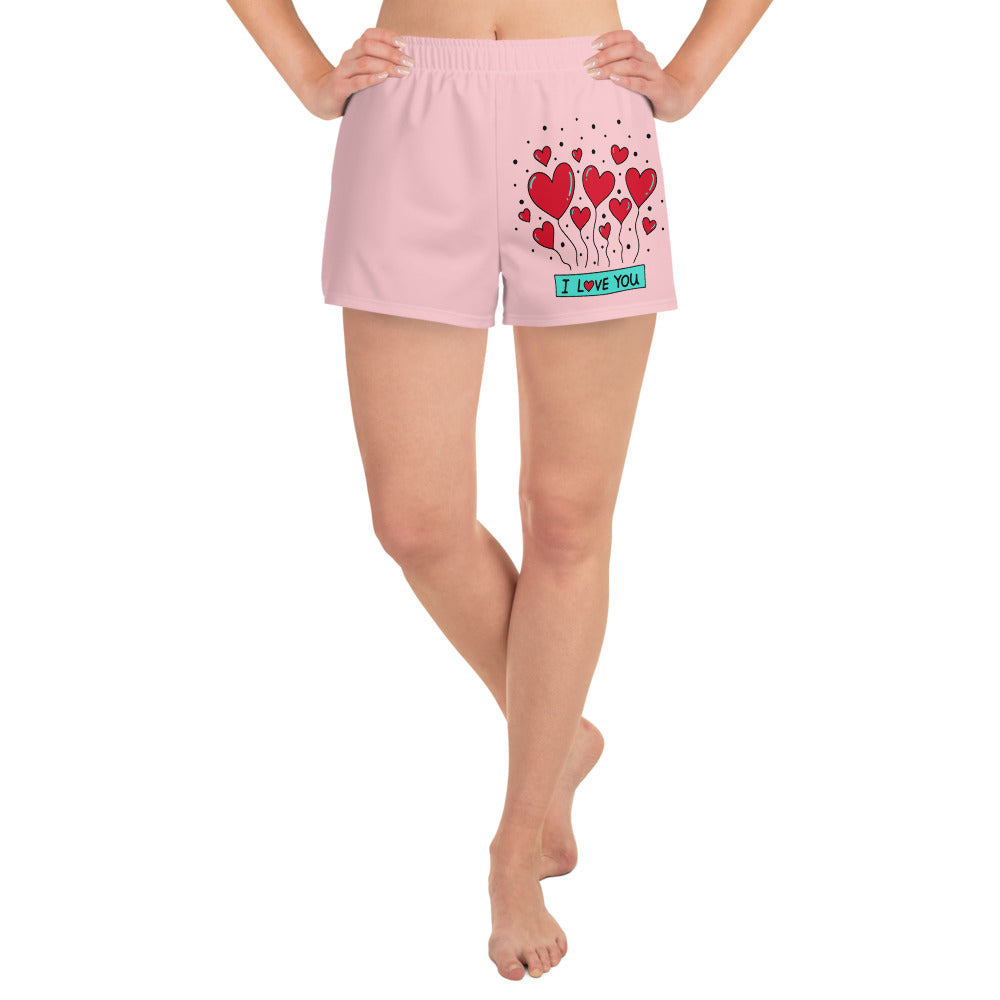 Love you Women's Shorts