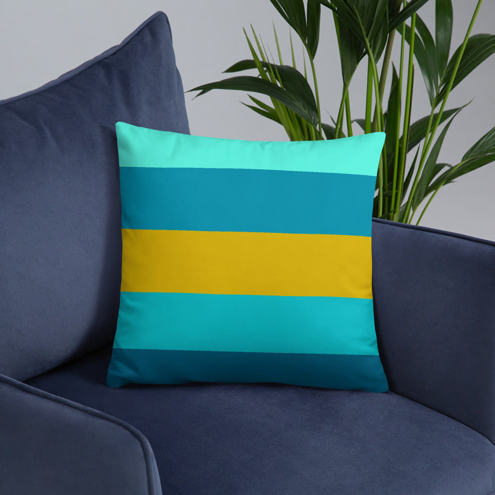 Striped Throw Pillows