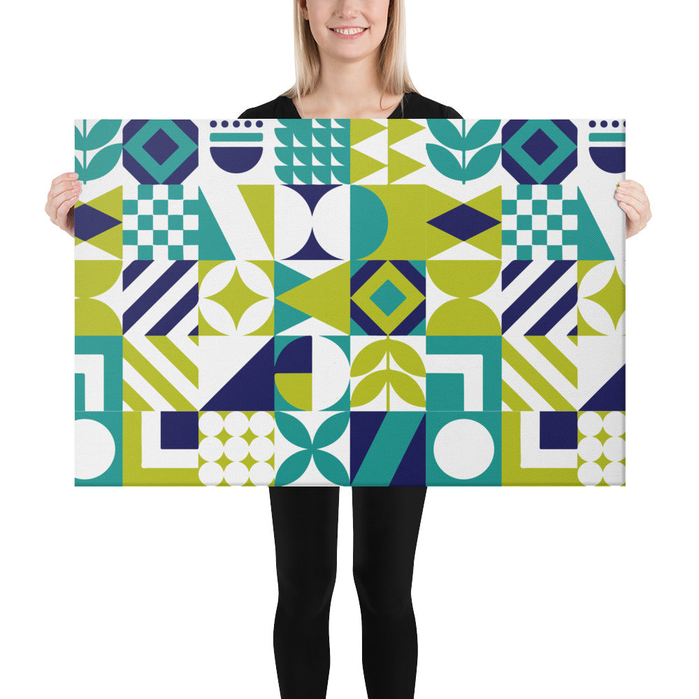 Modern Abstract Design Canvas