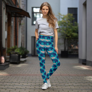 Love Elephants Yoga Leggings