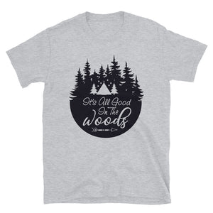 Camping in the Woods T-Shirt Grey