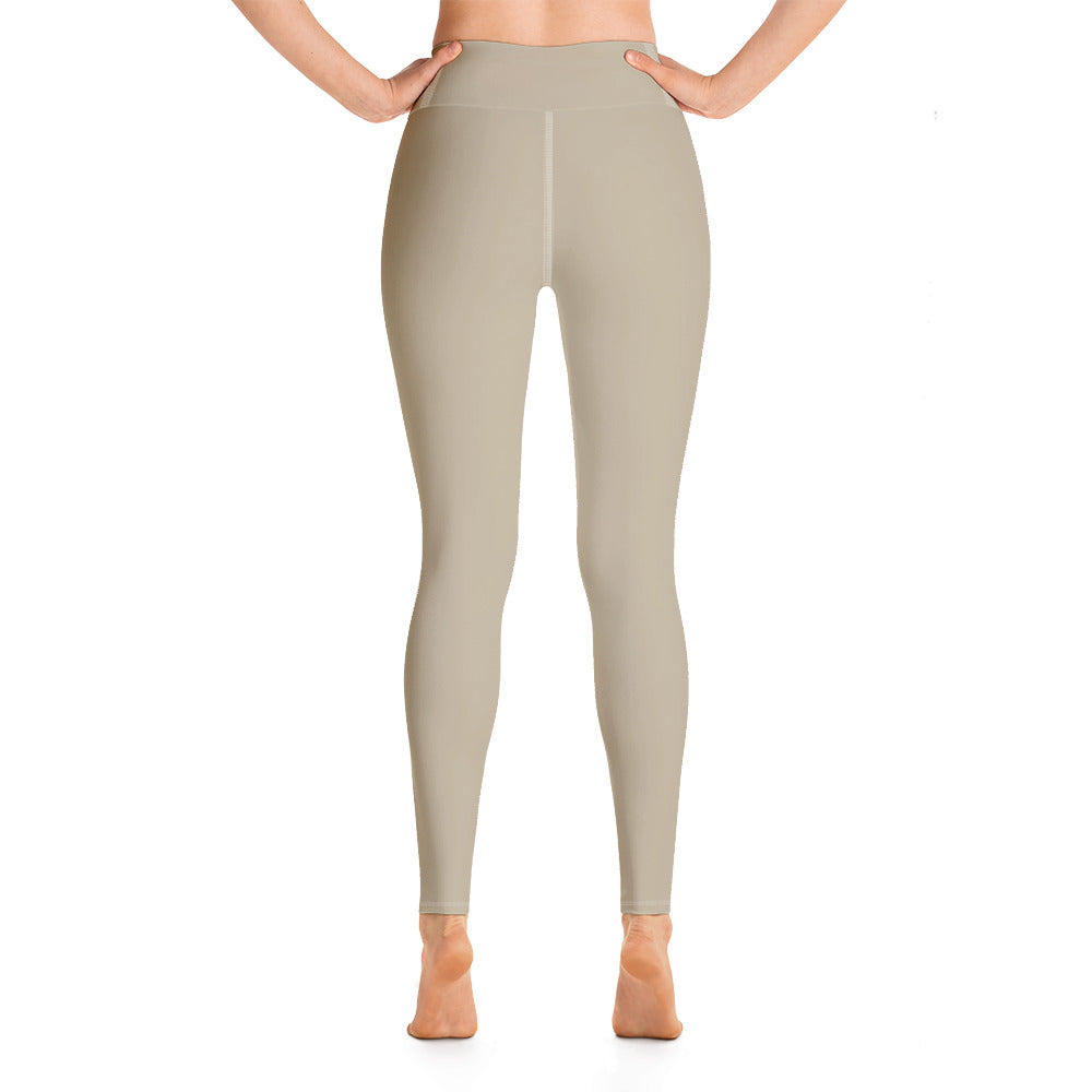 Tan Basic Yoga Leggings