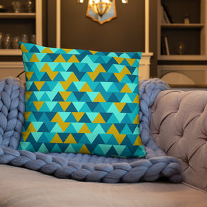 Geometric Pattern Throw Pillows
