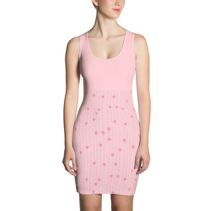 Cute Pink Heart Dress