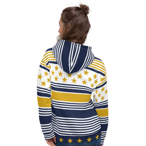 Yellow Christmas Hoodie for Women