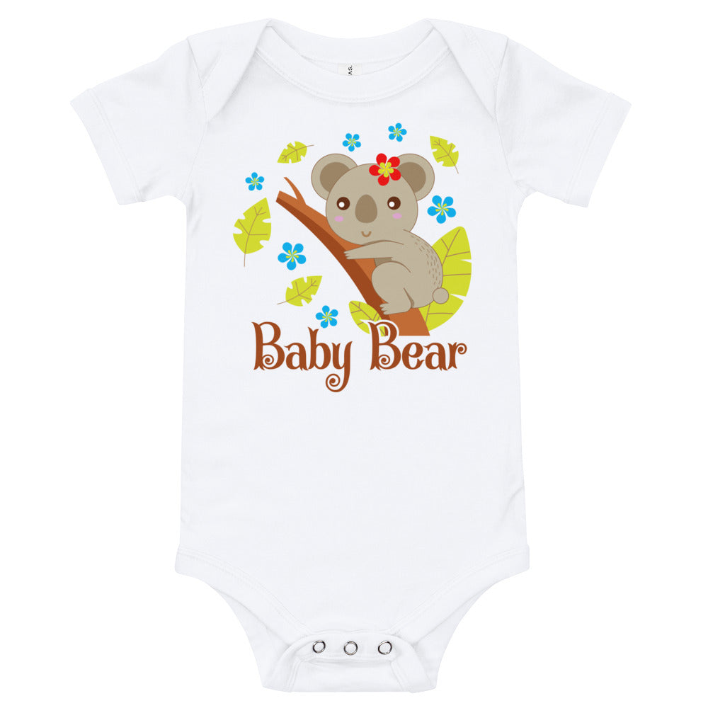 Cute Baby Bear Infants Bodysuit