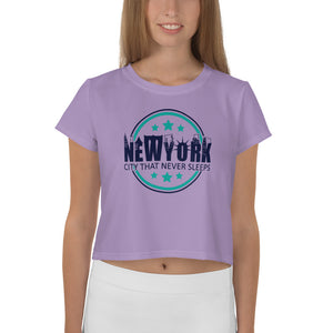 NEW YORK Crop Tee for Women