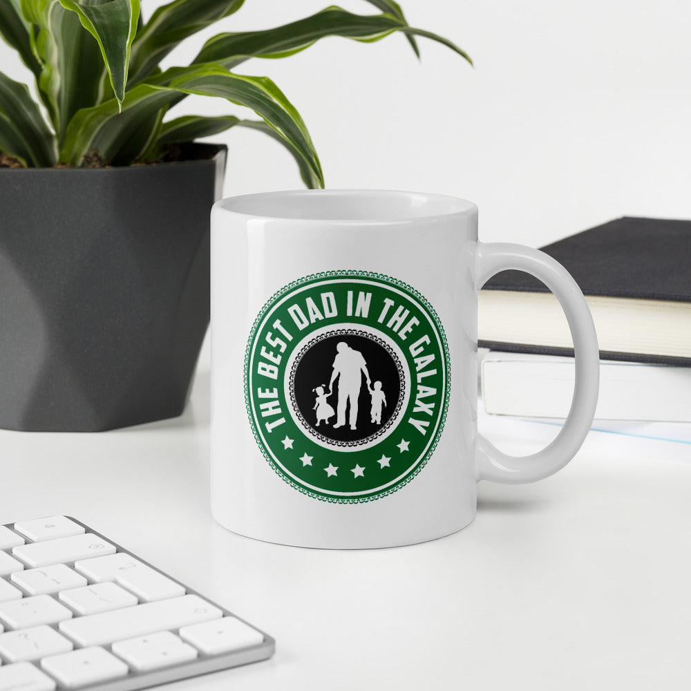 The Best Dad In The Galaxy Coffee Mug