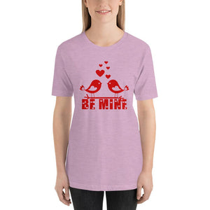 Be Mine Valentine's Day Lilac T-Shirt