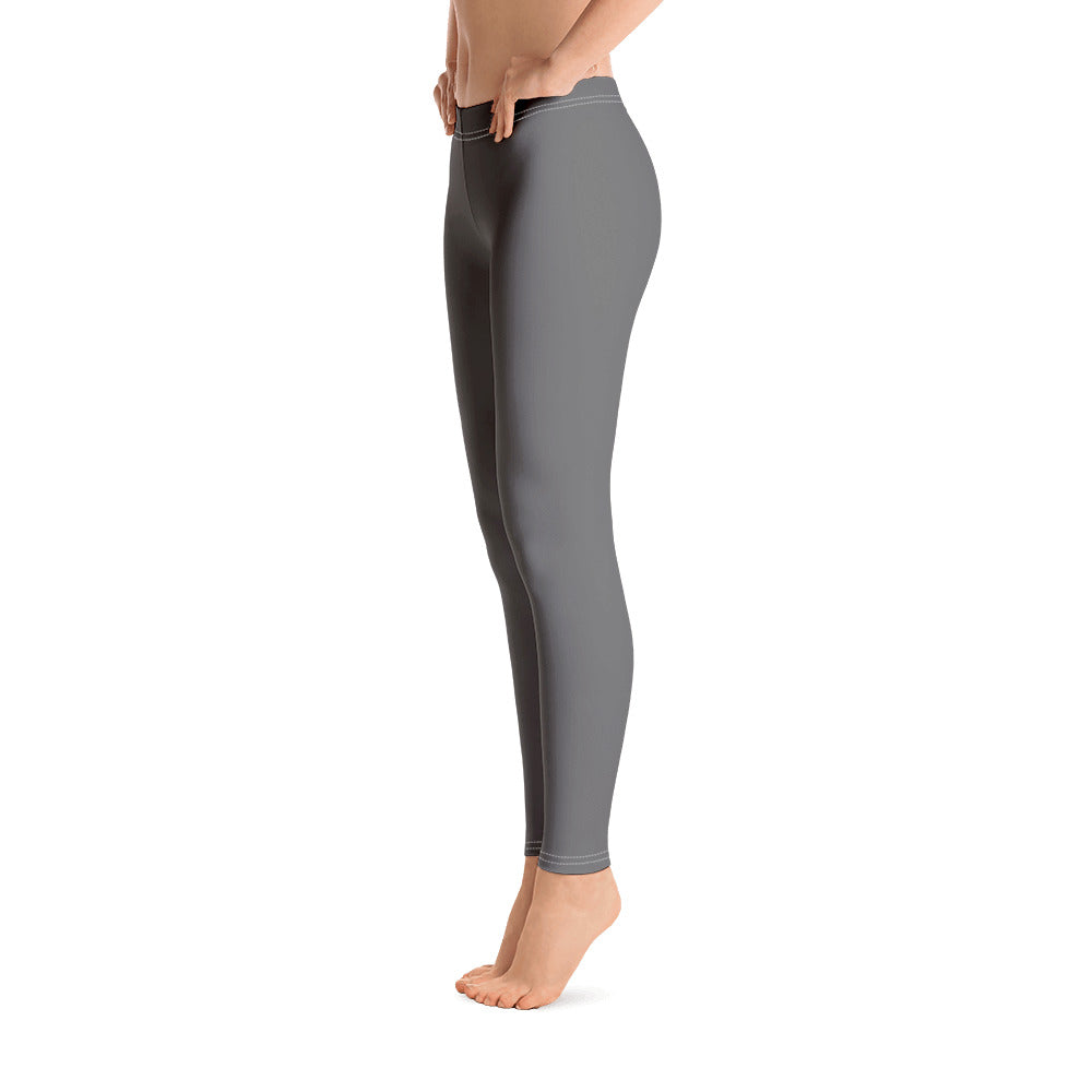 Outfits with Grey Leggings for Womens Right