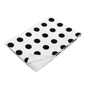 Black & White Throw Blanket