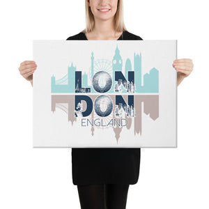 LONDON City skyline Canvas