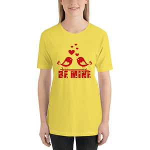Be Mine Valentine's Day Yellow T-Shirt