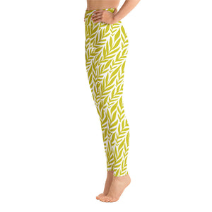 Lemon Yellow Yoga Leggings