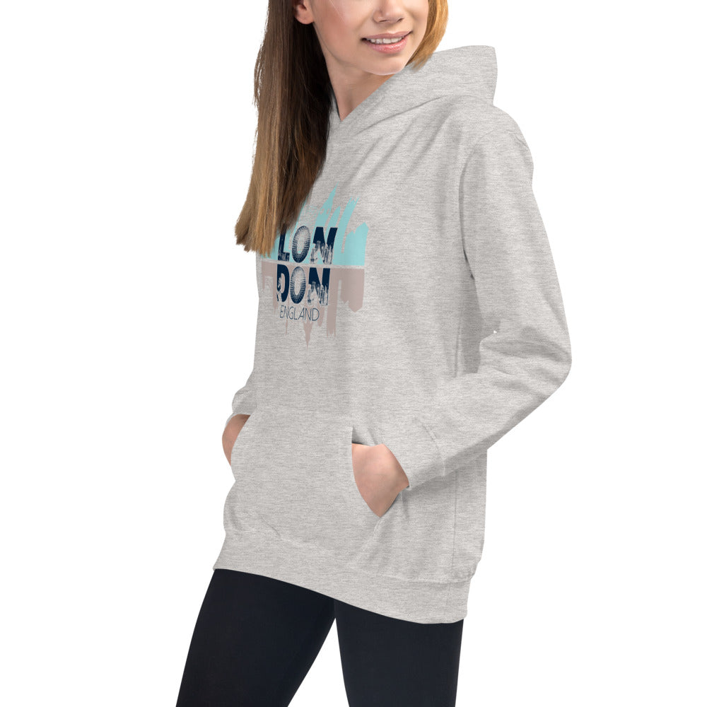 London Grey Hoodies for Girls