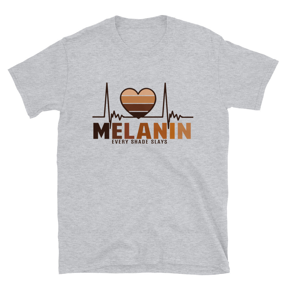 Heart Melanin Black Women T-Shirt