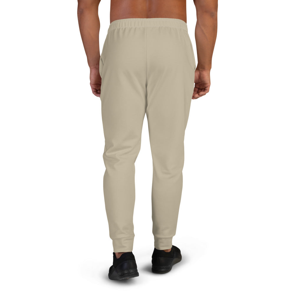 Beige Joggers for Men