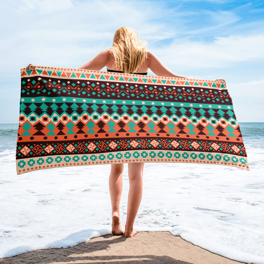Ethnic Pattern Towel