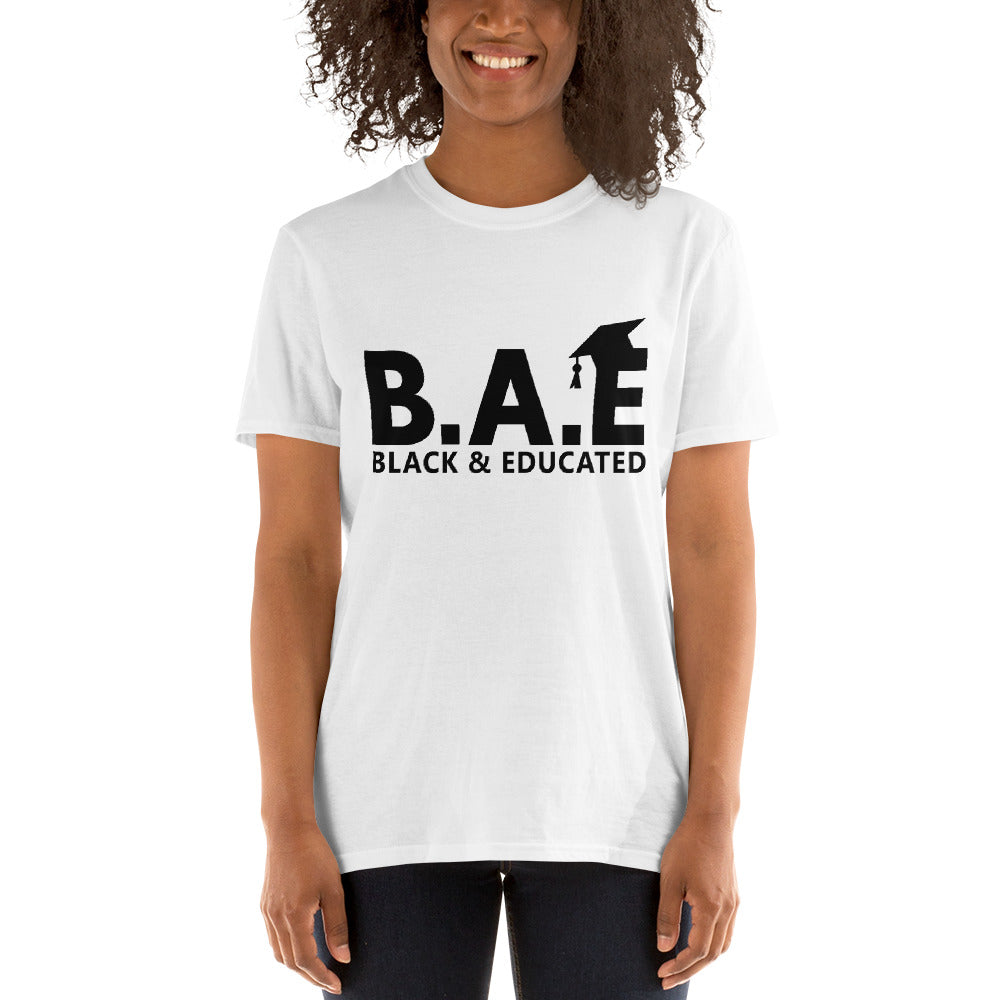 black and educated shirts