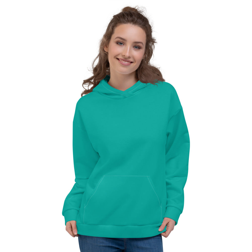 Teal Green Hoodie for Women