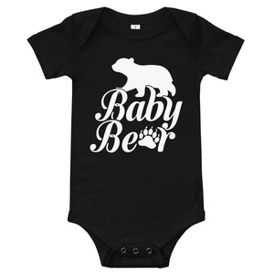 Baby Bear One Piece Bodysuit for Toddlers