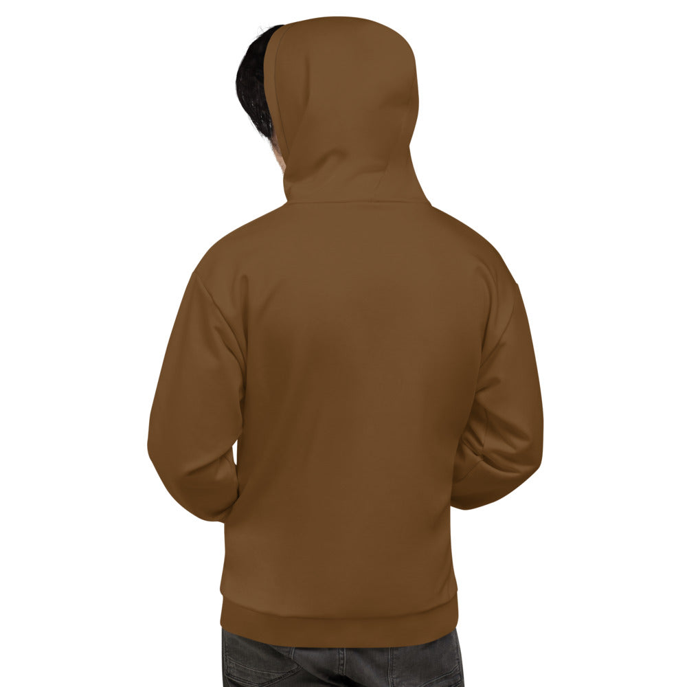 Dark Brown Hoodie for Men