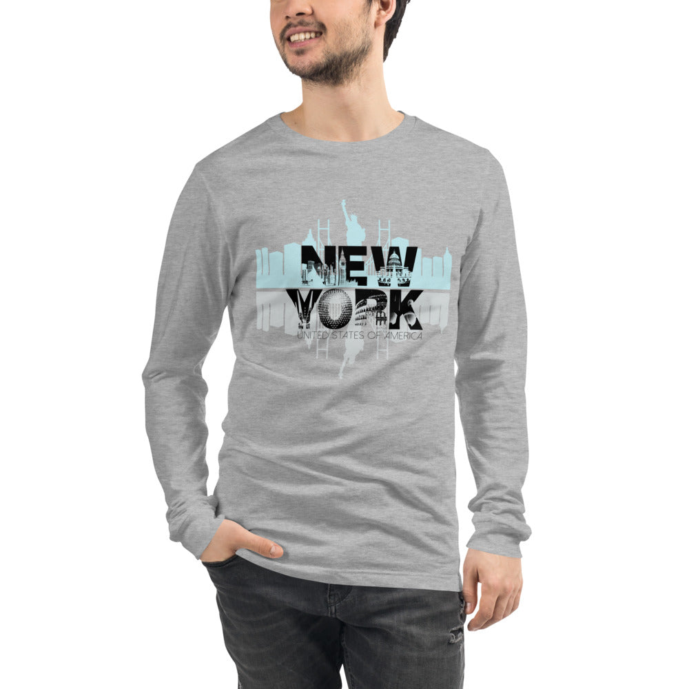 New York Long Sleeve T-Shirt for Men