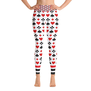 Poker Yoga Leggings