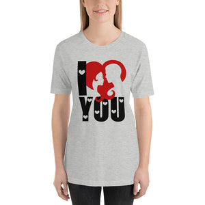 Valentine's Day Grey T-Shirt