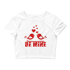Be Mine Crop Top for Valentine's Day Gift