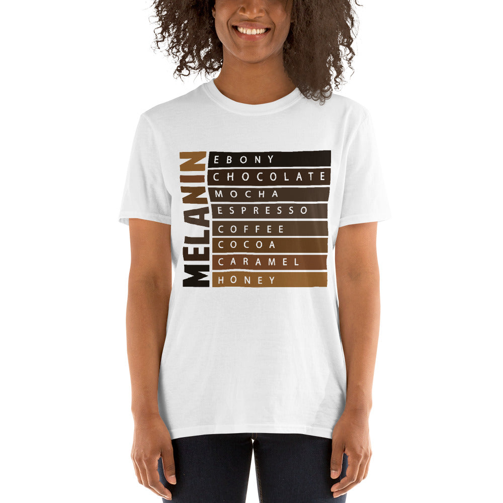 Melanin black women t-shirt