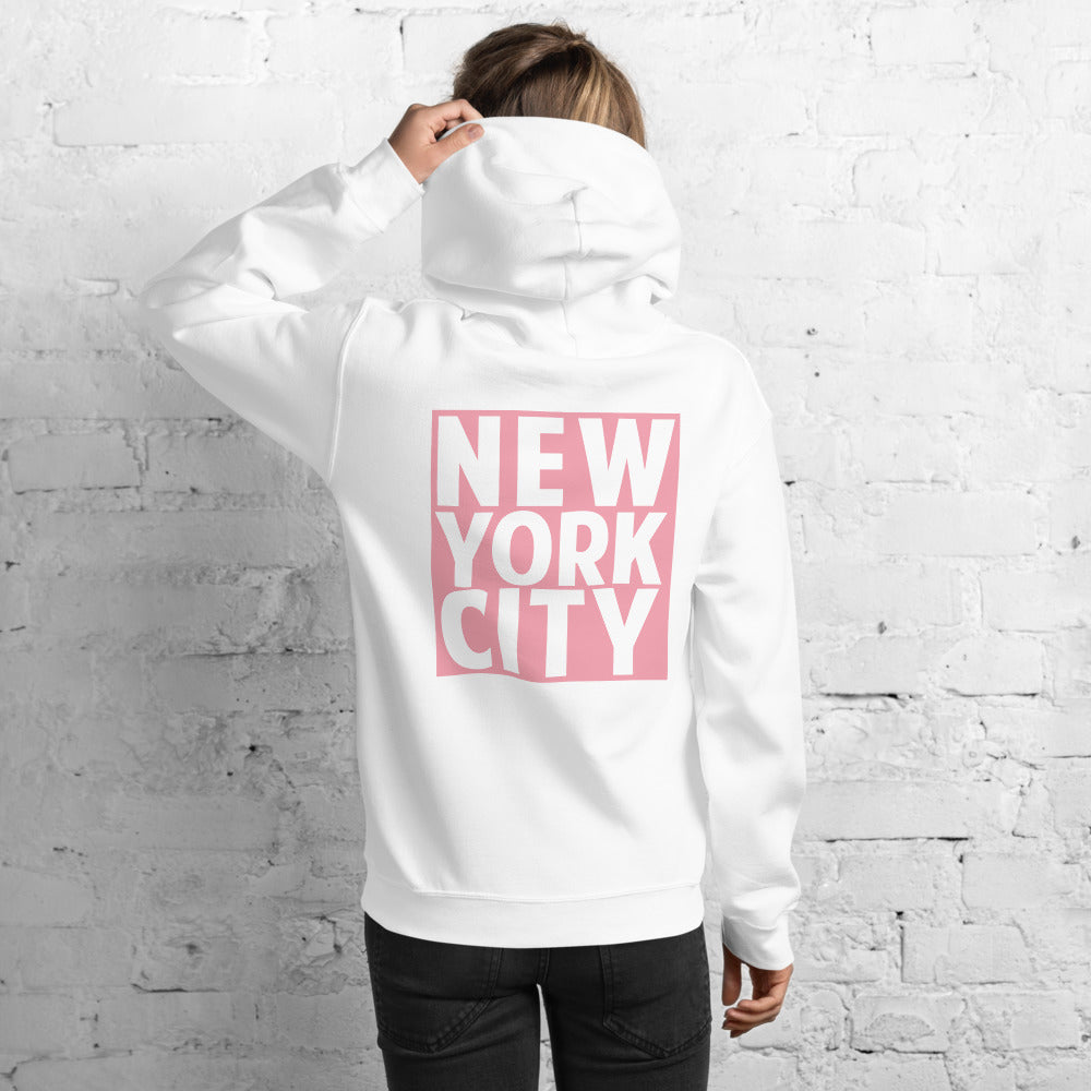 New York City White Hoodies for Women