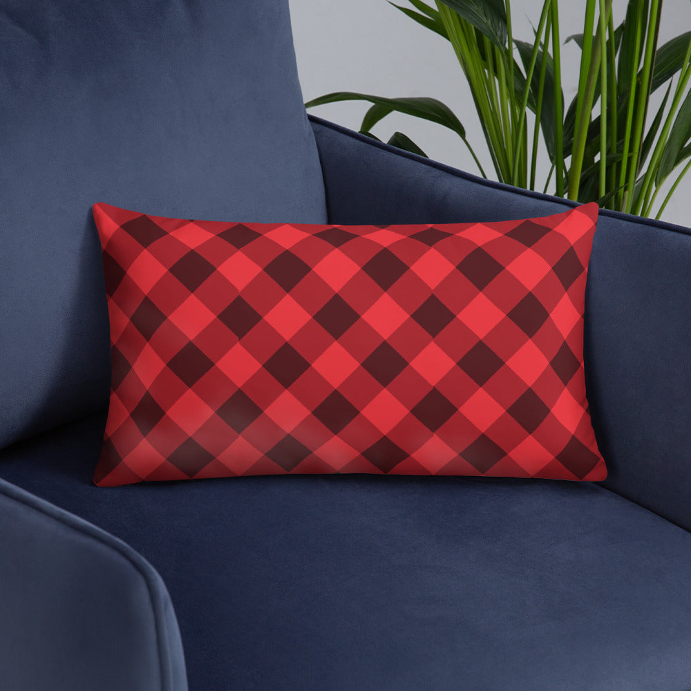 Flannel Throw Pillows - Double Sided