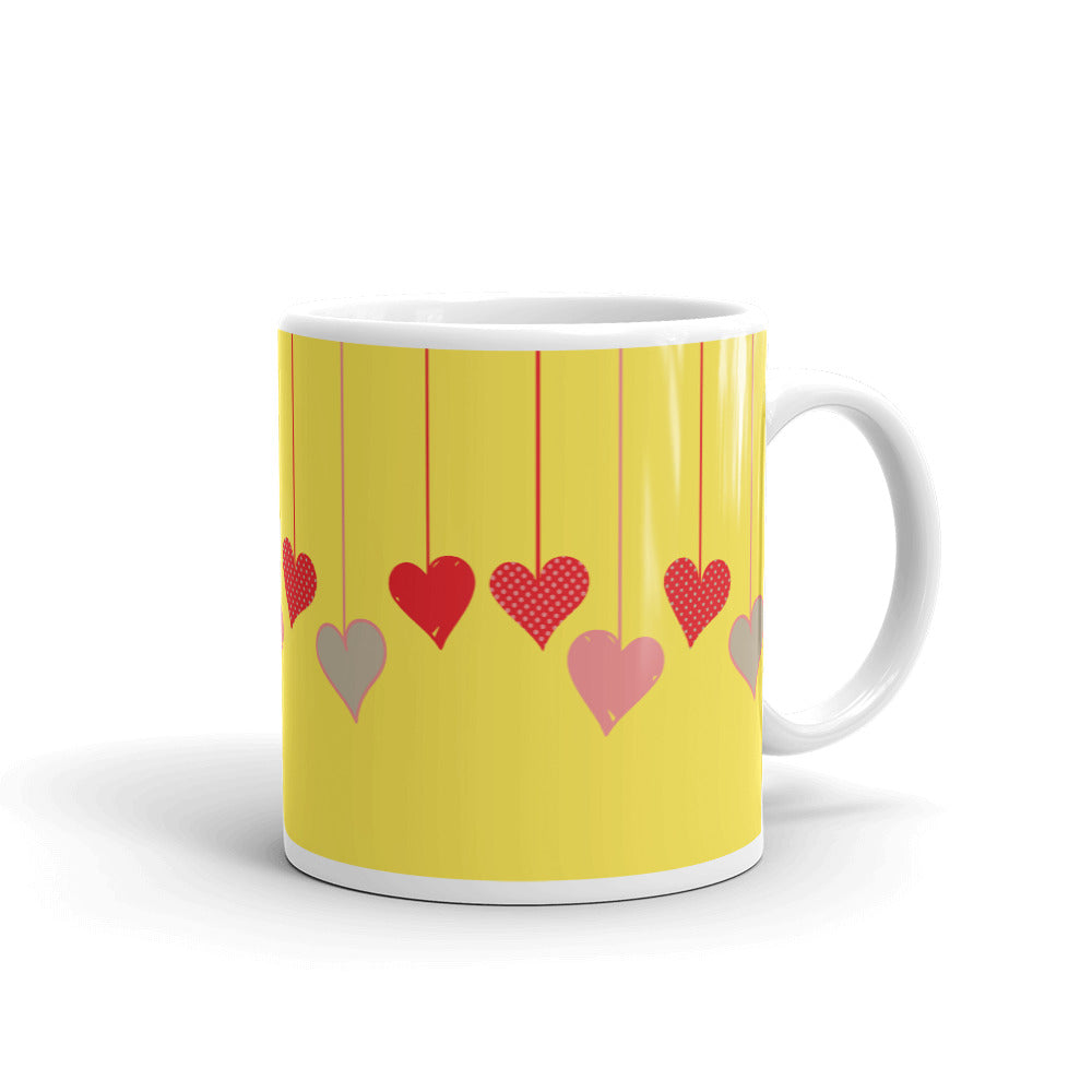 Love Hearts Coffee Mug