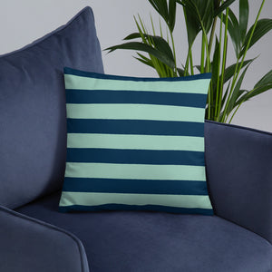 Classic Striped Throw Pillow