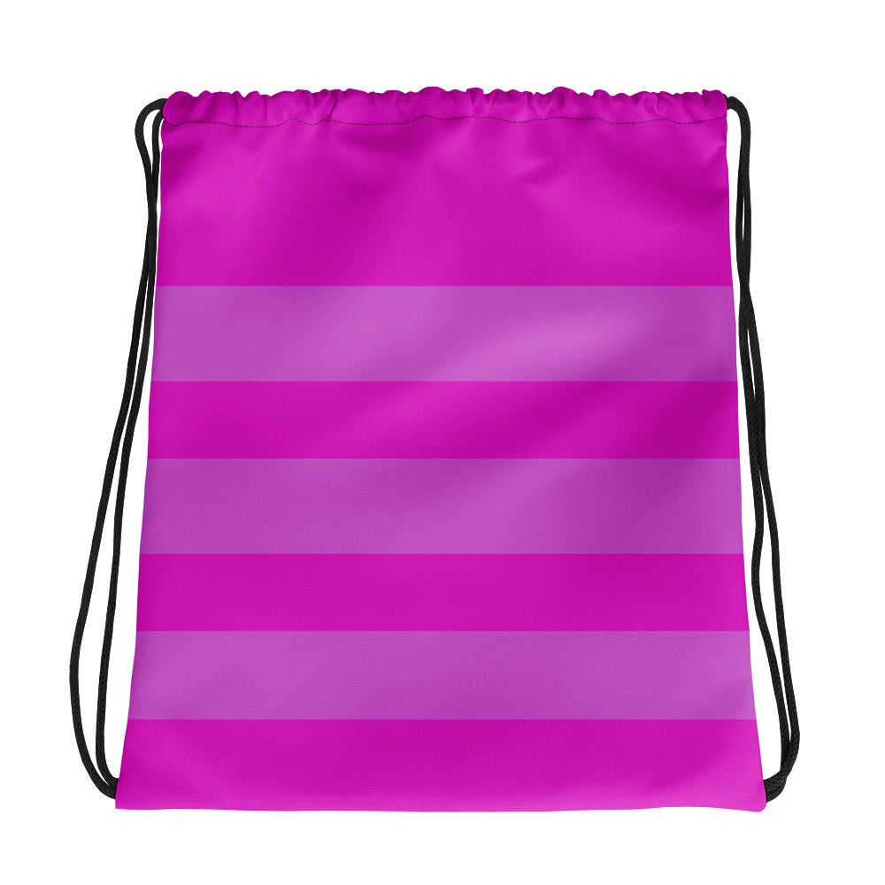 Magenta Pink Yoga Drawstring bag