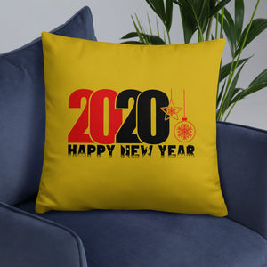 New Year Double Sided Pillow