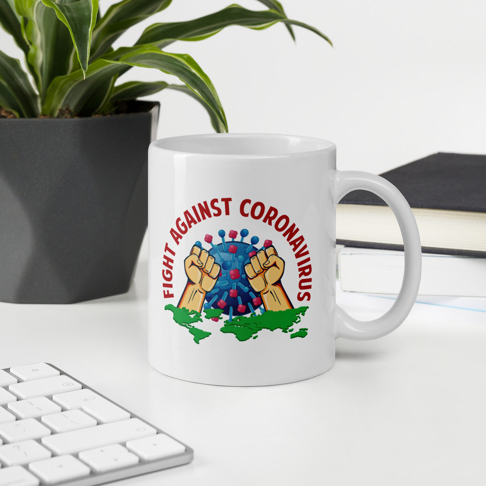 Fight Against Corona Virus Mug