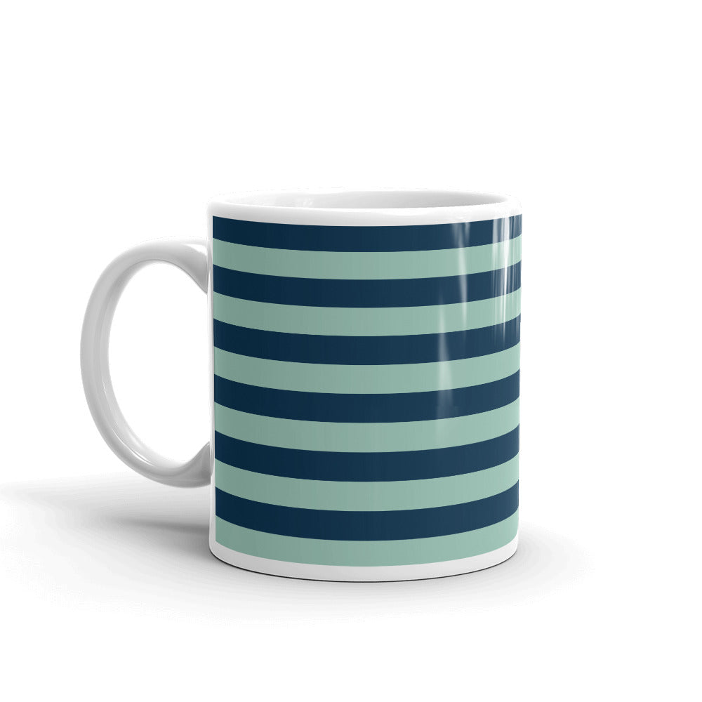 Striped Coffee Mug