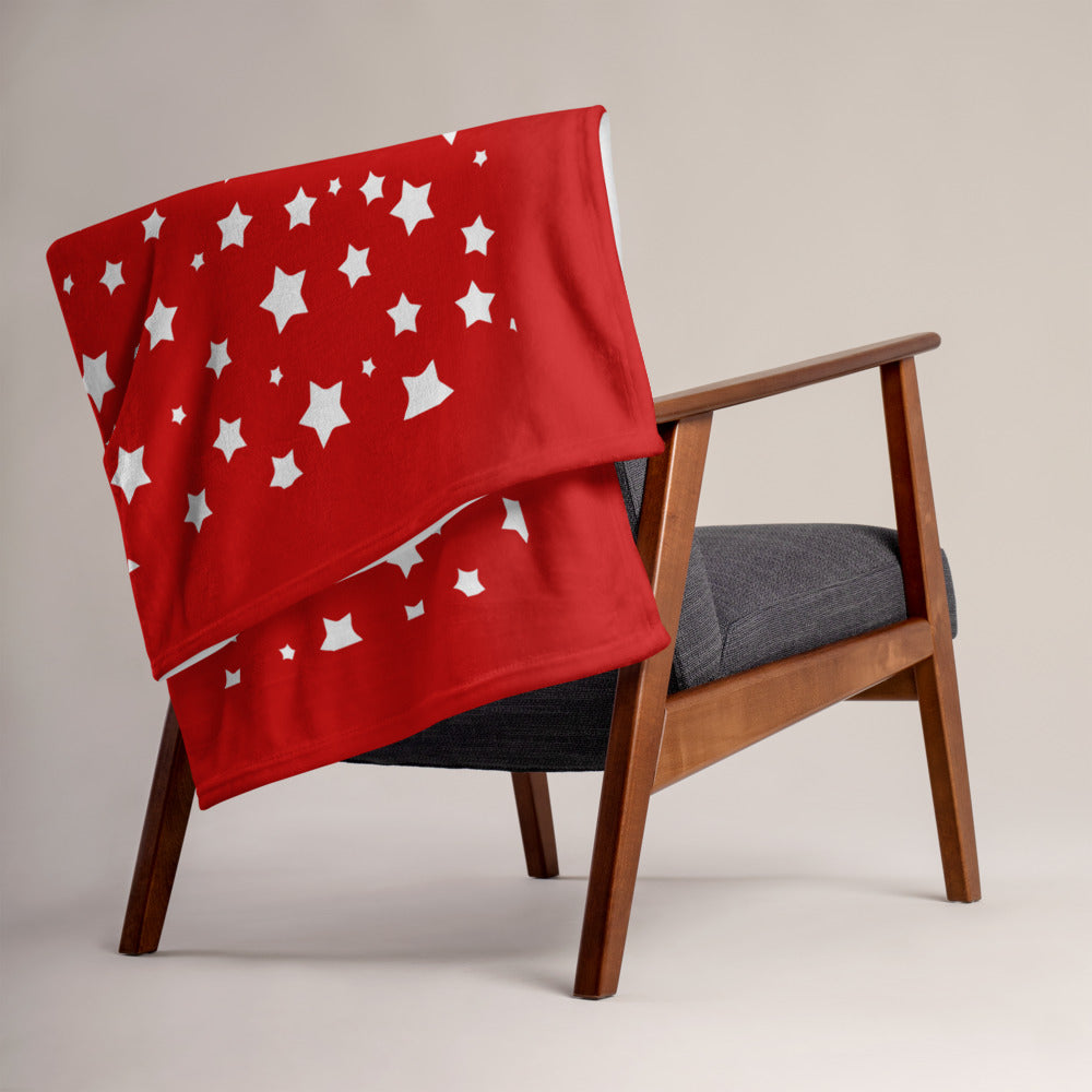 Christmas Star Throw Blanket