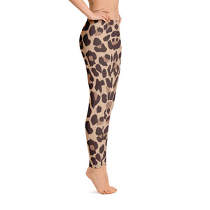 Leopard print workout leggings Right