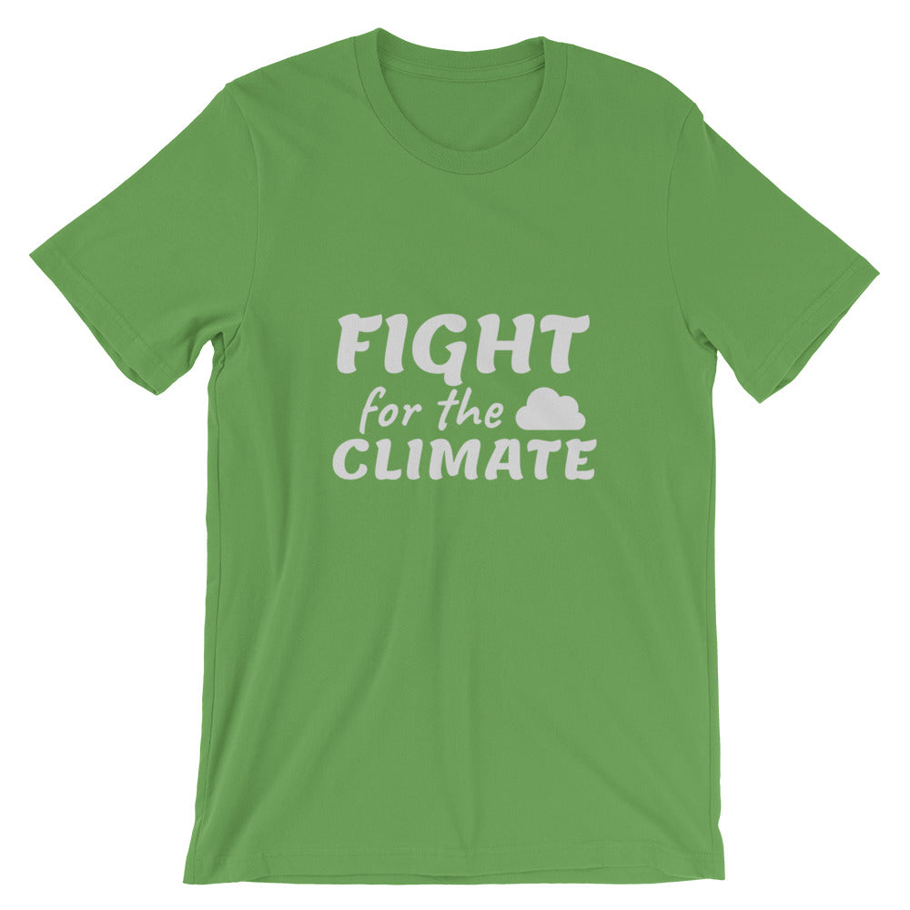 Climate Change T-Shirt Leaf Green