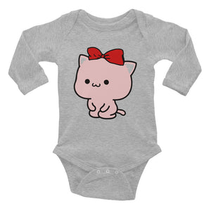 Cute Mini Bodysuits for Baby Girl grey