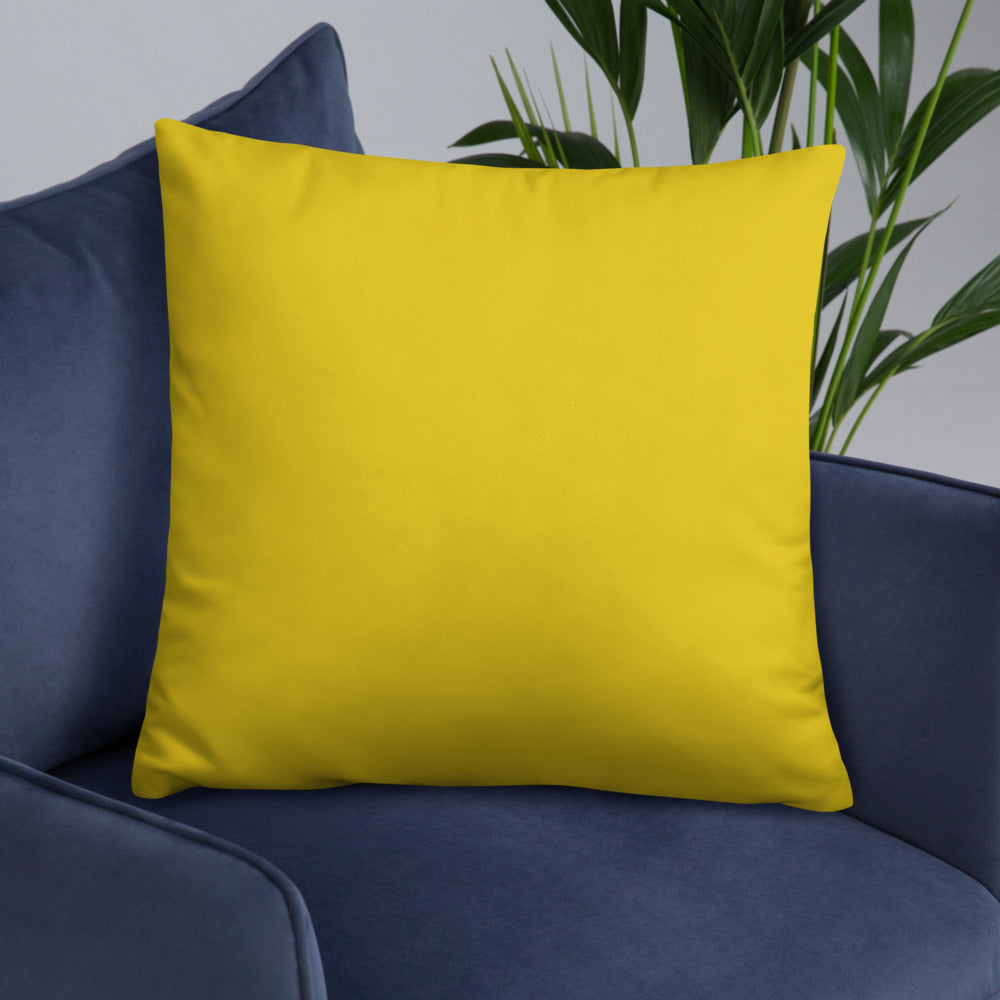 Yellow Throw Pillows star