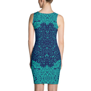 Blue Teal Cute Dress