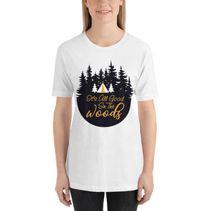Camping in the Woods T-Shirt women