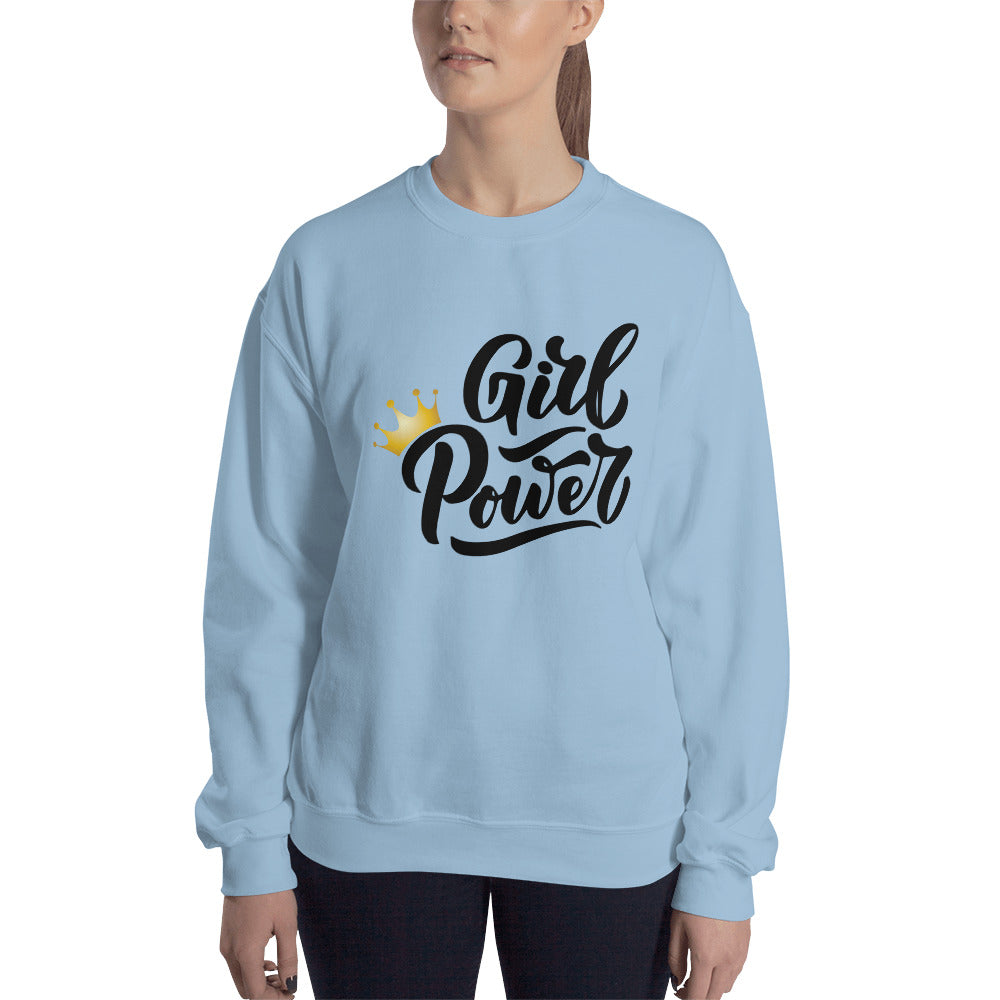 Girl Power Sweatshirt Women