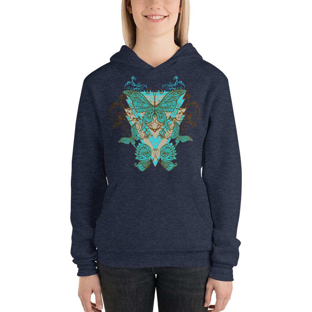 Floral Butterfly Hoodie