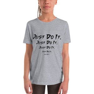 Just Do It Grey T-Shirt for Girls